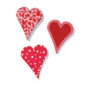 Hot Heart Magnets