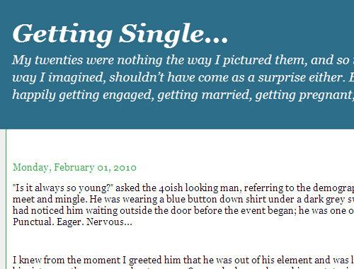 Getting Single