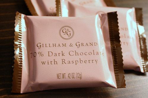 Gillham & Grand 70% Dark Chocolate with Raspberry
