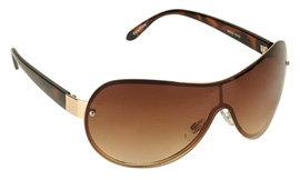 Aeropostale Rhinestone Shield Sunglasses