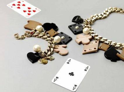 Stella McCartney Alice in Wonderland Necklace and Bracelet