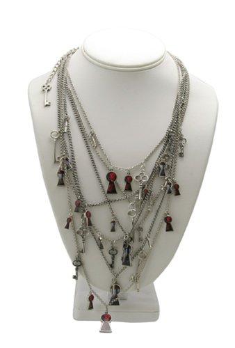 Tom Binns Alice Keyhole Necklace