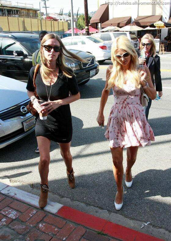 the Hilton Ladies in Los Angeles