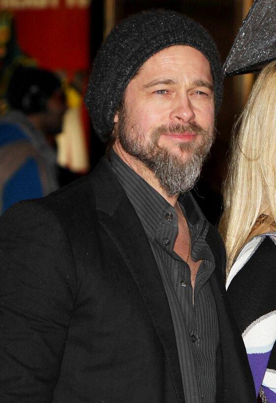 Brad Pitt at the Premiere of Kick Ass