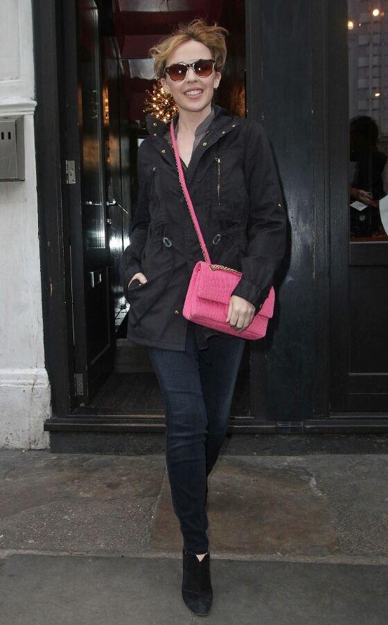 Kylie Minogue in London