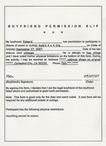 Get Permission!