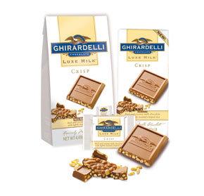 Ghirardelli Luxe Milk Chocolate Crisp Bar