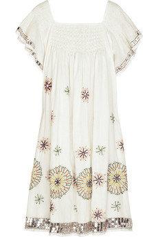 Antik Batik Embroidered Dress