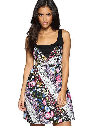 Iska Jersery Insert Dress