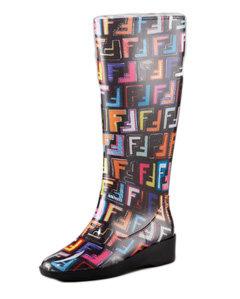 Fendi Graffiti Rain Boot