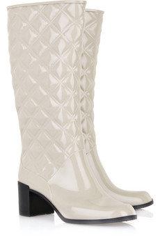 Marc Jacobs Heeled Rubber Wellington Boots