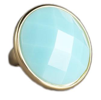 Kate Spade Aqua Large Faceted Ring