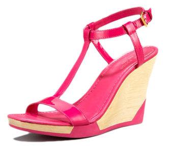 "Kate Spade ""Metro"" Patent T-Strap Sandal"
