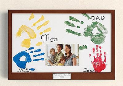Family Handprint Frame