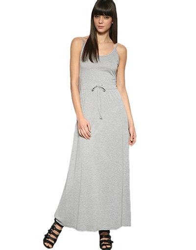 Staple Drawstring Maxi Dress