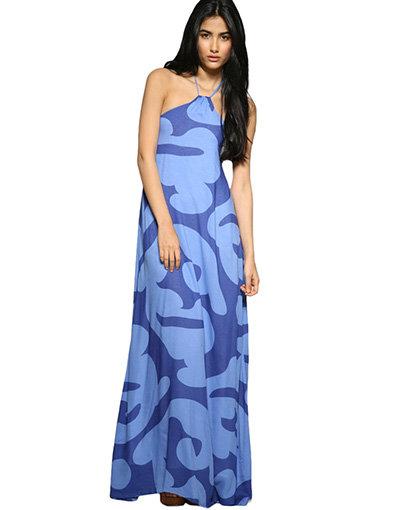 Totem Bubble Maxi Dress