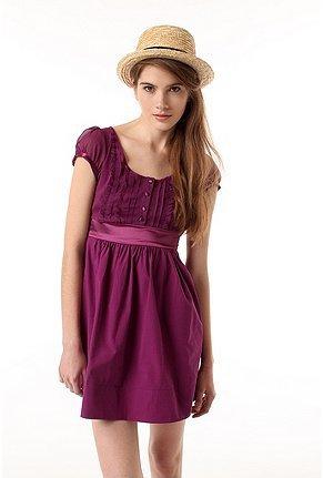 Kimchi Concord Chiffon Lady Dress