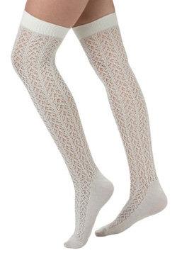 A Leg up Socks in Snow