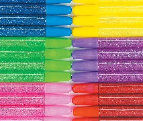 Bright Glitter Glue Pens