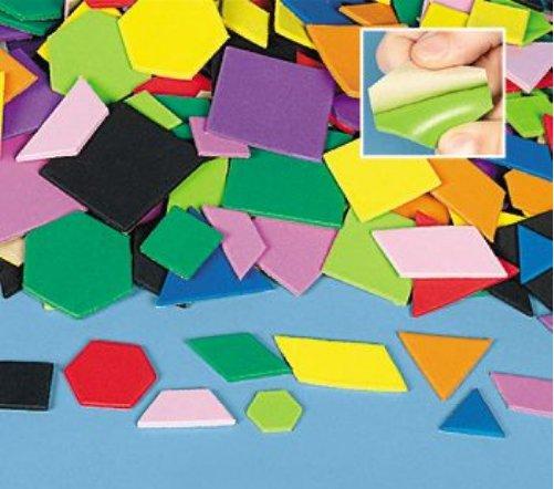 Large Geometric Self-Adhesive Foam Shapes