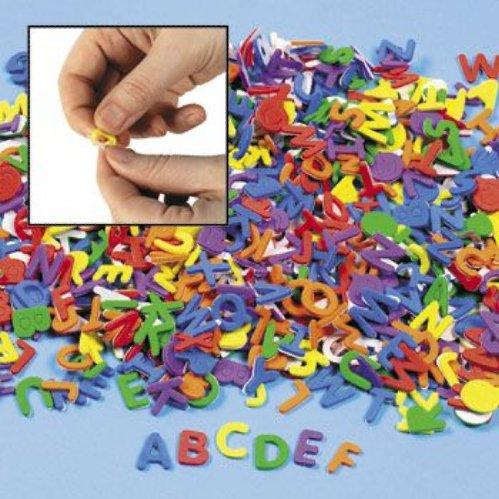 Self-Adhesive Foam Letters