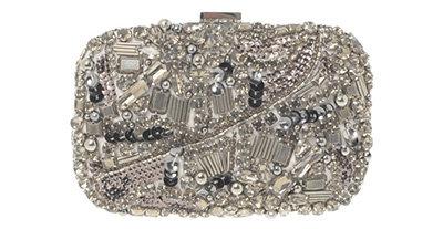 Karen Miller Diamante Box Bag