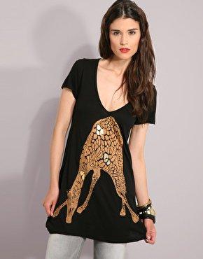 Lauren Moshi round Giraffe Tee