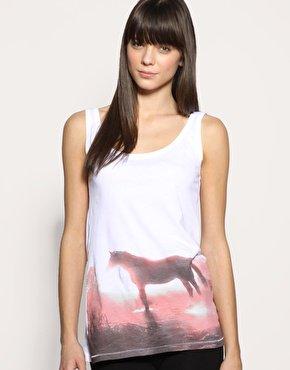Slowmotion Organic Cotton Horse Vest