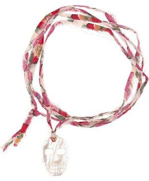 Aurelie Bidermann Mother of Pearl Charm Bracelet