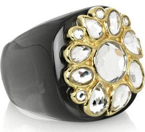 Isharya Resin Flower Ring