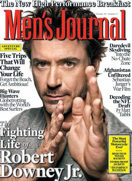 Robert Downey Jr. for Men's Journal