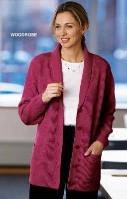 Shaker Cardigan Sweater