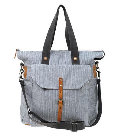 Ally Capellino Freddie Nautical Striped Shopper Bag