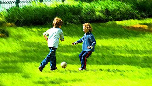 "Play Footie (or ""Soccer"")"