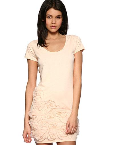 ASOS Mesh Rose Dress