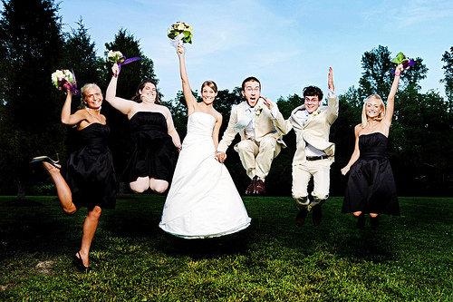 Unconventional Wedding Parties