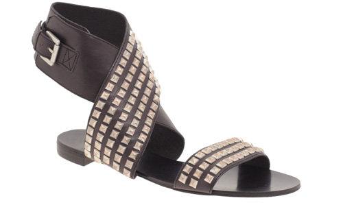 Ash Mosaic Studded Cuffed Sandal