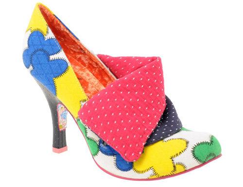 Irregular Choice Flick Flack Heeled Shoe