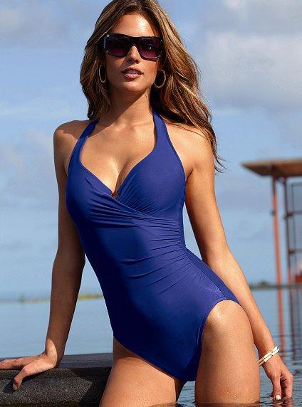 9ac645e78b45e Victoria s Secret Magicsuit® Firm Control Shaping Halter One-Piece