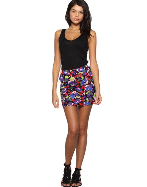 ASOS Printed Bodycon Skirt