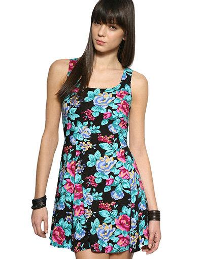 Minkpink Cross Back Floral Dress