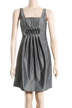 Metallic Grey Dress from Max Studio - $68