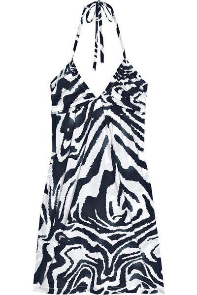 Calvin Klein Animal-print Jersey Dress