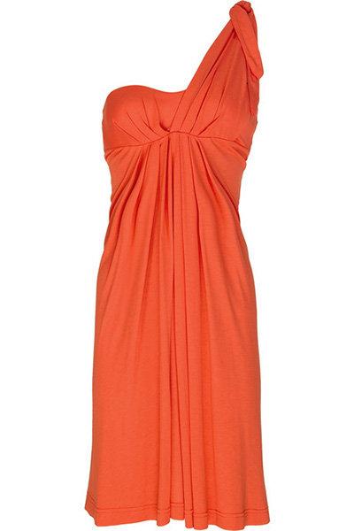 JETS by Jessika Allen One-shouldered Jersey Dress