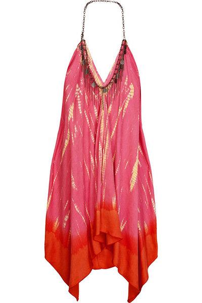 Lotta Stensson Dip-Dye Silk Handkerchief Dress