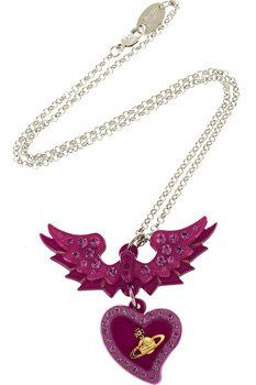 Vivienne Westwood Winged Heart Valentine Pendant