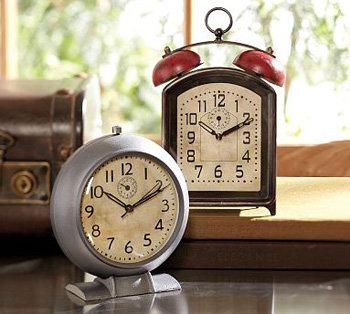 Pottery Barn Vintage Clock