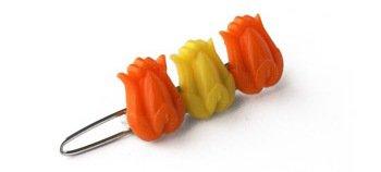 Vintage Mini Tulip Clip