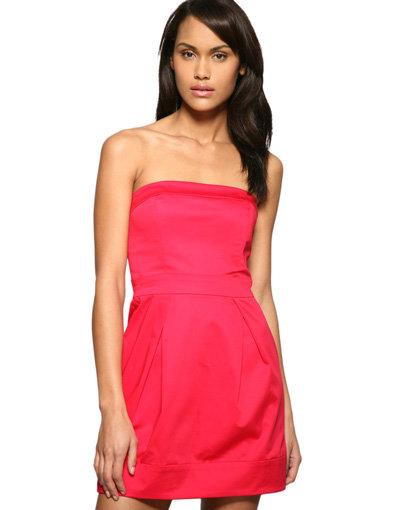 Strapless Tulip Dress