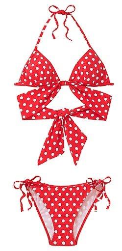 Wrapped Halter Bikini